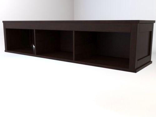 tv wall shelf ebay. Black Bedroom Furniture Sets. Home Design Ideas
