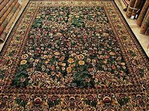 Exclusive Designed Flowers Allover Garden Decorative Oriental Area Rugs Hand Knotted Fine Wool Carpet (10 x 14)'