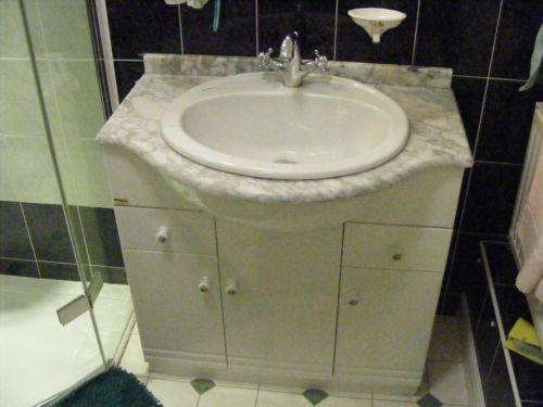 Marble Top Vanity Unit Ebay