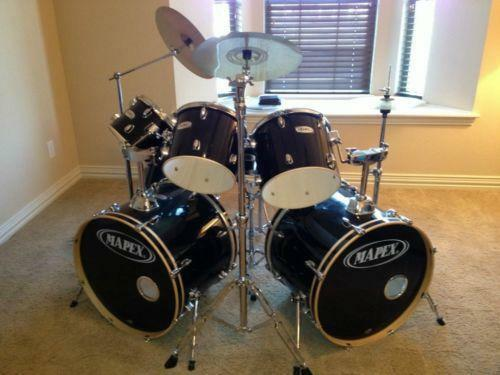 used mapex drum sets ebay. Black Bedroom Furniture Sets. Home Design Ideas