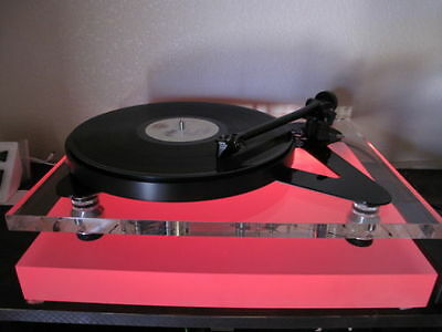 Nice Rega Project Sota Thorens Clearaudio Acrylic Turntable Base Platform Wled