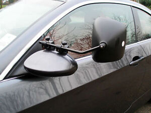 Milenco Grand Aero 3 Extra Wide Caravan Towing Mirrors - Regular Convex Glass