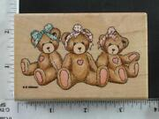 Cherished Teddies Rubber Stamps