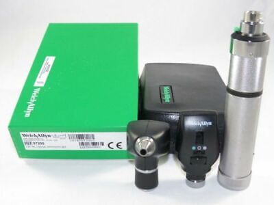 Welch Allyn 3.5v Coaxial Ophthmoscope Model 11720 Rechargeable Set