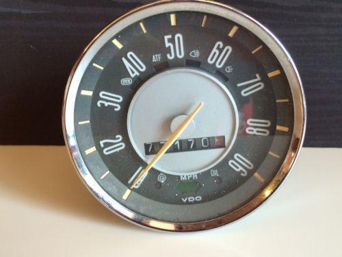 Vintage Vw Parts >> Vintage VDO | eBay