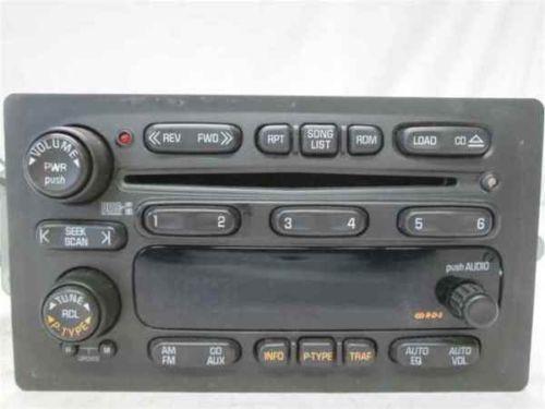 Chevy Trailblazer Radio Parts Accessories Ebay
