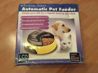 Portable Automatic Pet Feeder For 4 Meals