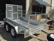 NEW  8 X 5 TANDEM BOX TRAILER HOT DIPPED GALVANISED & RAMP 1500mm Kunda Park Maroochydore Area Preview