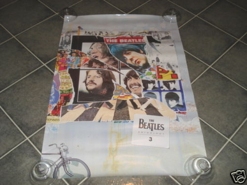 The Beatles Anthology 3 Promo Poster Photo 20x30 1996
