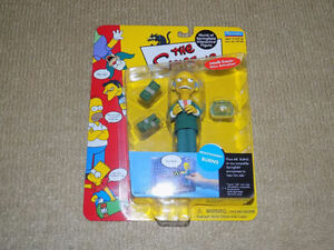PLAYMATES, THE SIMPSONS MONTGOMERY BURNS, ACTION FIGURE SERIES 1