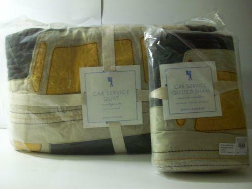 Pottery Barn Kids Car Quilt Ebay