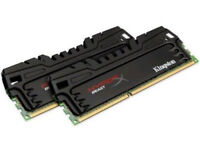 HyperX Beast 8 GB (2x4 GB) DDR3 1600 MHz CL9 Desktop Memory Kit Black