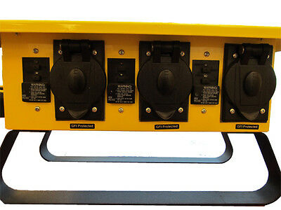 New In Box 6506g 50a 125250v Spider Box W 20a 125v L5-20 Twist-lock Outlets