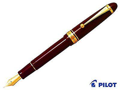 Pilot fountain pen custom 743 Deep Red fine FKK-3000R-DR-F Japan Import