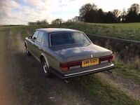 1982 Rolls Royce Silver Spirit ex-fleet classic car