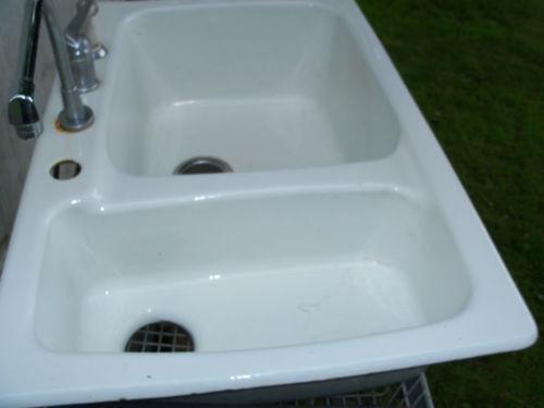 Cast Iron Kitchen Sink Ebay