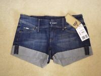 Mango Denim Shorts (size 8)