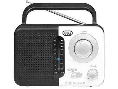 Trevi RA 768 S Portables 2-Band-Radio weiß AM FM Radio Bluetooth Musik ()