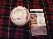 2012 Signed World Series Baseball