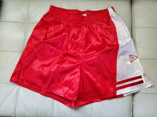 Vtg 80s New Mitre MEN LARGE  Lined Nylon Gym Soccer Shorts