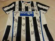 Signed Newcastle Shirt