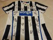 Signed Newcastle Shirt