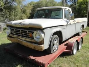 1966 Dodge D100 Sweptline parts London Ontario image 1