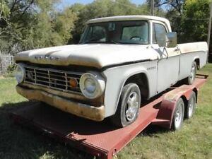1966 Dodge D100 Sweptline parts