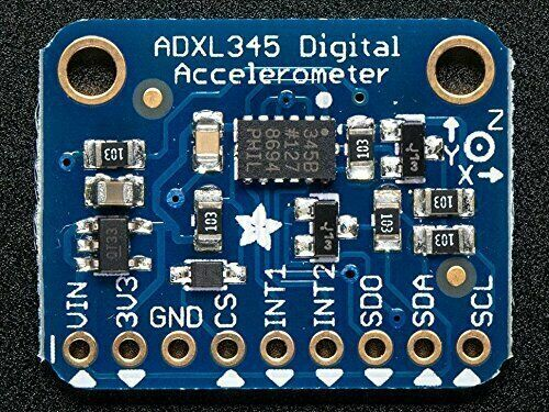 [3DMakerworld] Adafruit ADXL345 3-Axis Accelerometer (+-2g/4g/8g/16g) w/ I2C/SPI