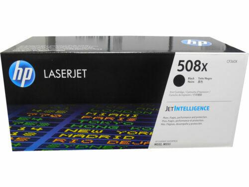 New Genuine OPEN BOX HP 508X Black Laser Toner Cartridge CF360X