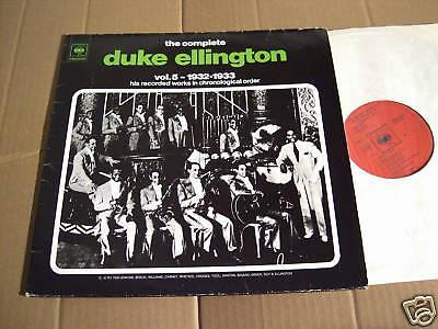 DUKE ELLINGTON - THE COMPLETE VOL. 5 - 1932-33 - 2 LPs
