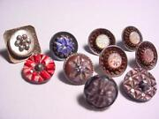 Vintage Carved Buttons