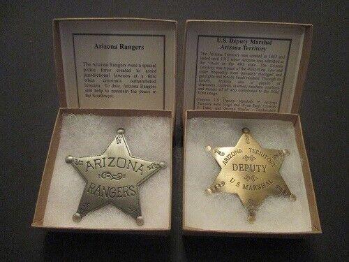 Arizona Rangers and Arizona Deputy Marshall Badge
