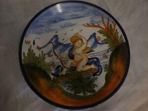 Oval Painting On Glass