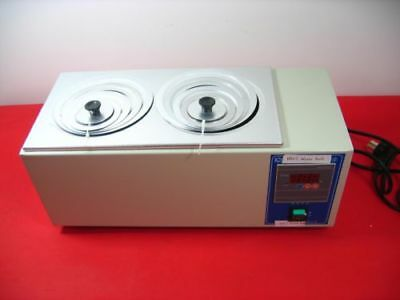 Hh-2 Digital Lab Thermostatic Water Bath Two Double Hole Electric Heating Hot