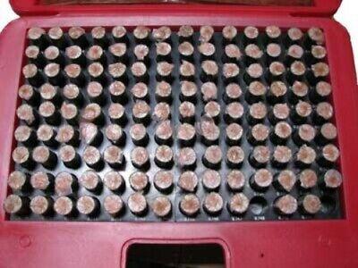 M4 Minus Plug Pin Gage Gauge Set 0.626-0.750 125 Pcs
