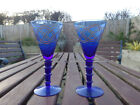 Hand Painted Goblets Glasses