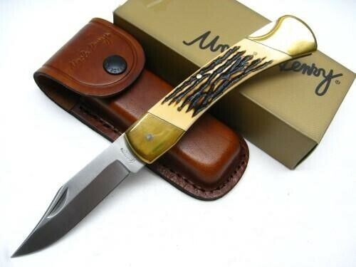 Uncle Henry LB8 Papa Bear Lockback Folding Pocket Knife