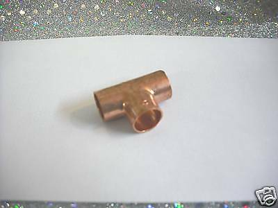 Copper Fitting Tee For 12 O.d. Tubing 1