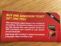 Ferrari World Dubai Free Admission
