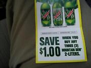 Mountain Dew Coupons