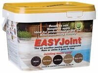 Easy JointPaving grout - Buff Sand 12.5Kg Jointing compound