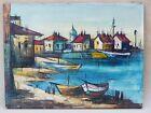 Oil Vintage Fishing Art Paintings