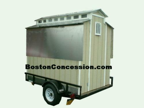 homemade enclosed trailer plans food trailer ebay