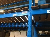 3 TIER HEAVY DUTY INDUSTRIAL COMMERCIAL WAREHOUSE LONGSPAN PALLET RACKING