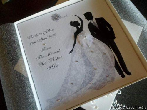 Personalised wedding cards ebay stopboris Image collections