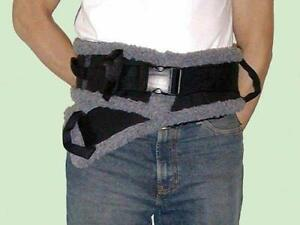 NEW SafetySure Large Sherpa Lined Patient Transfer/Gait Belt $35