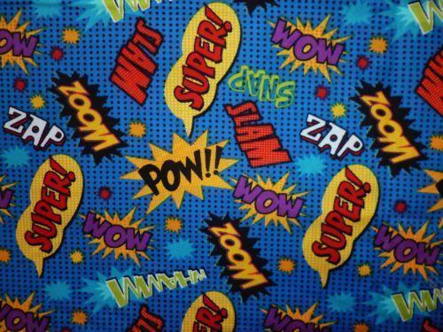 Comic Fabric Ebay