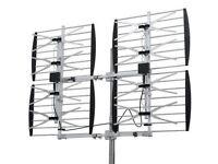 antenne hdtv Super 8 Bay Ultra Clear Digital Outdoor Antenna