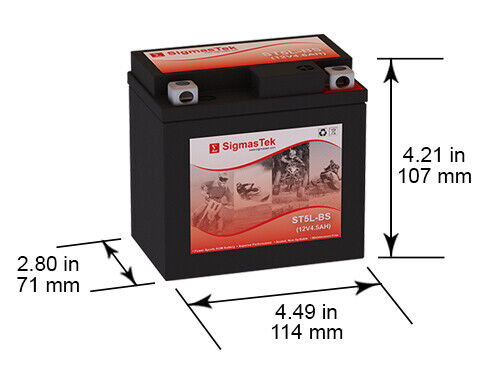interstate battery cytx5l bs 80cca battery replacement